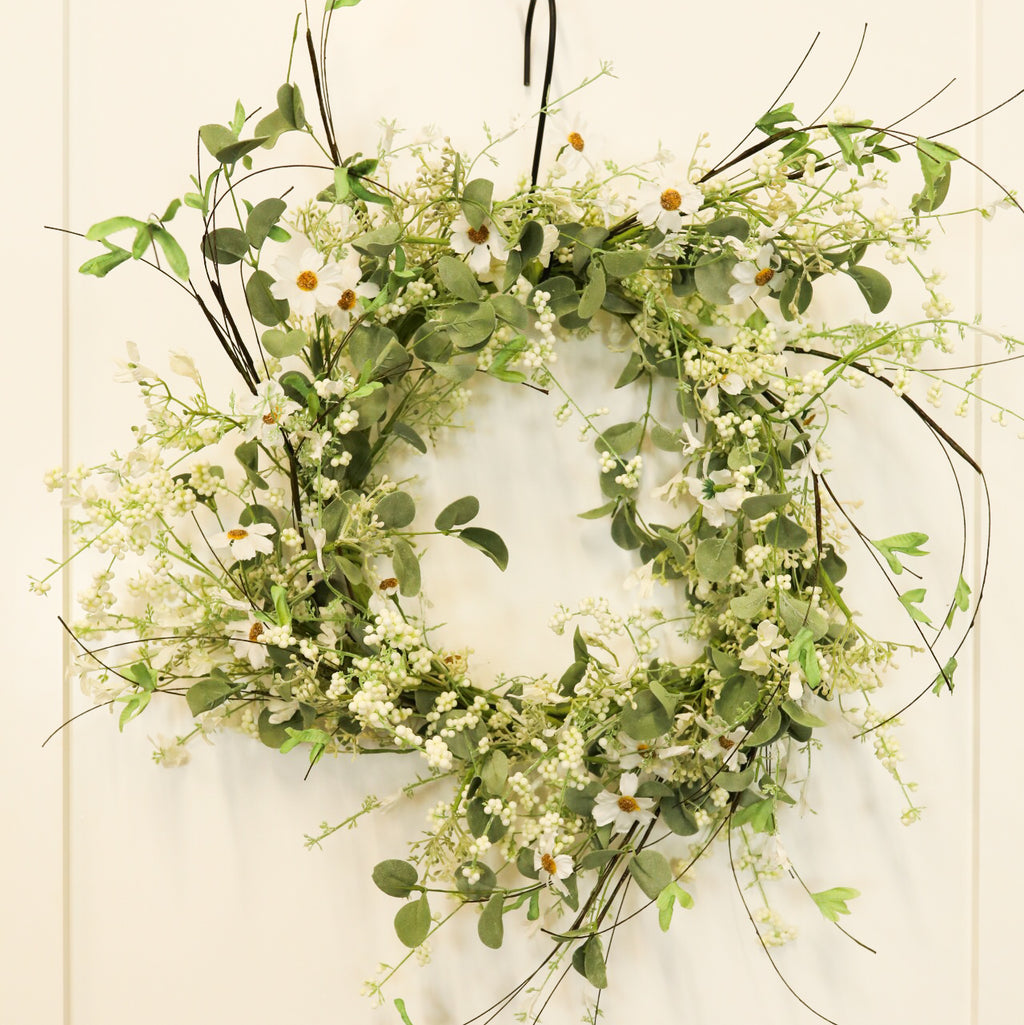 "Jubilee Wreath - Cream 12"" Ring"