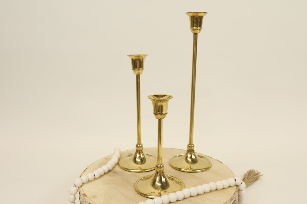 Gold Candle Stick - Small