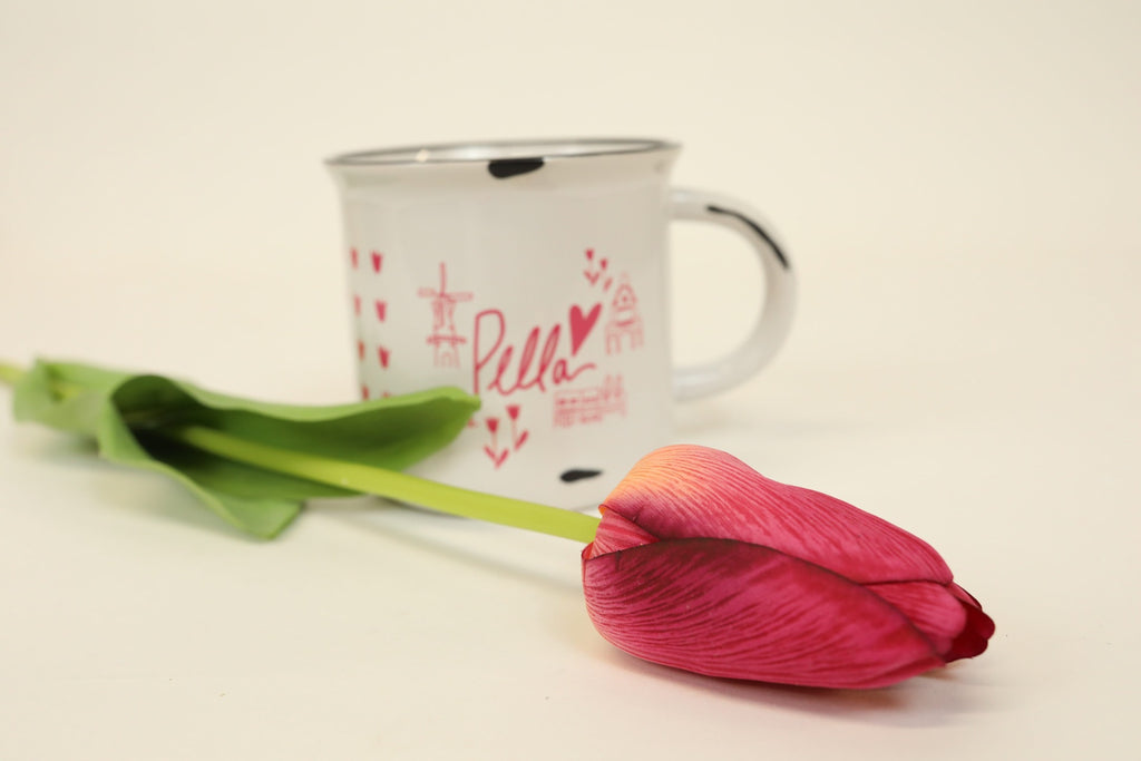 Single Stem Tulip - Fuchsia 26""