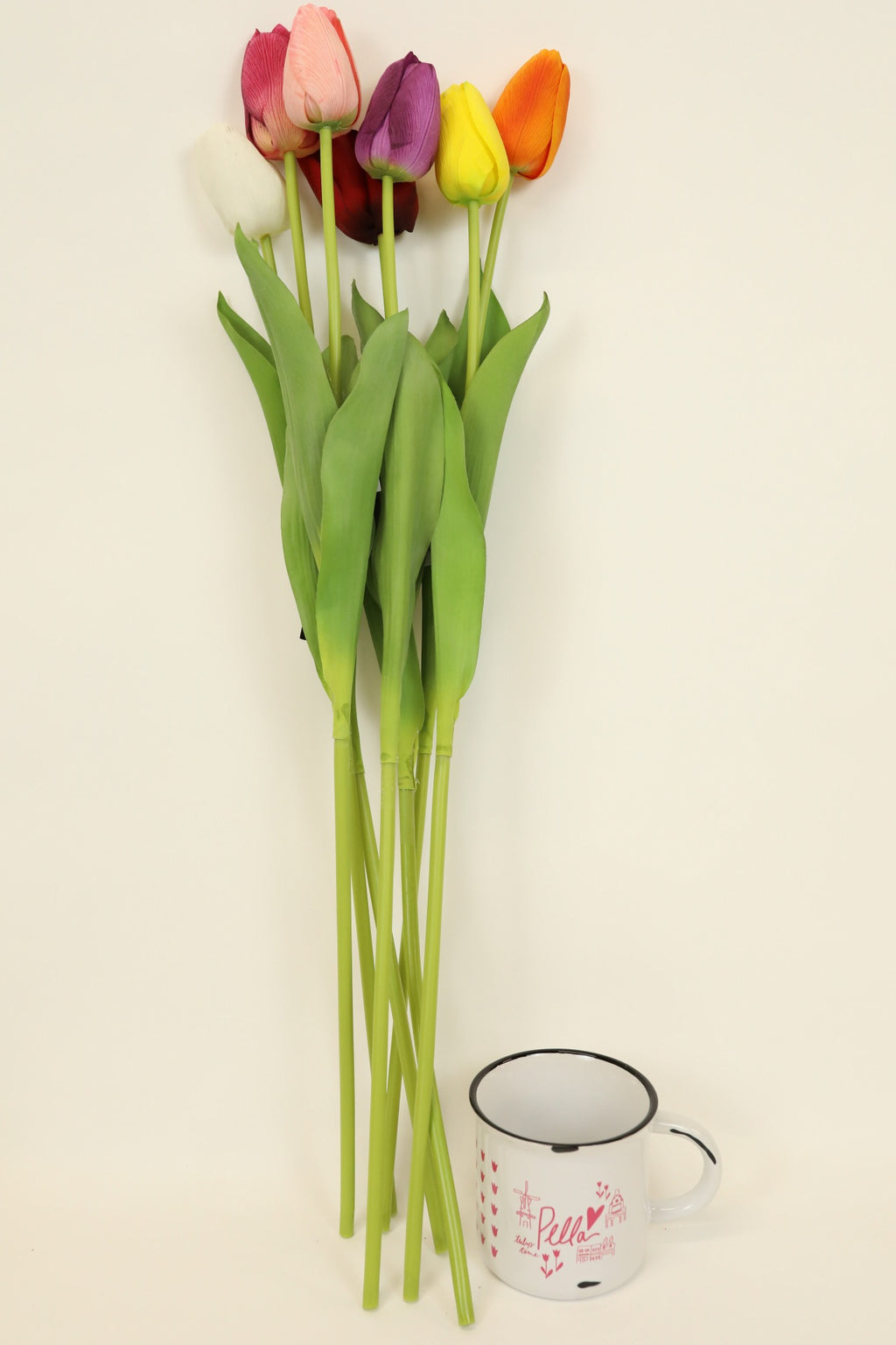 Single Stem Tulip - Orange 26""