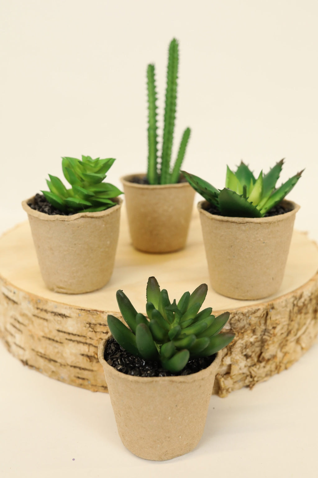 Artificial Mini Succulents - 4 Styles