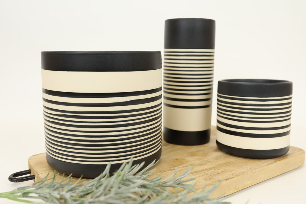 Stripe Planter - Small