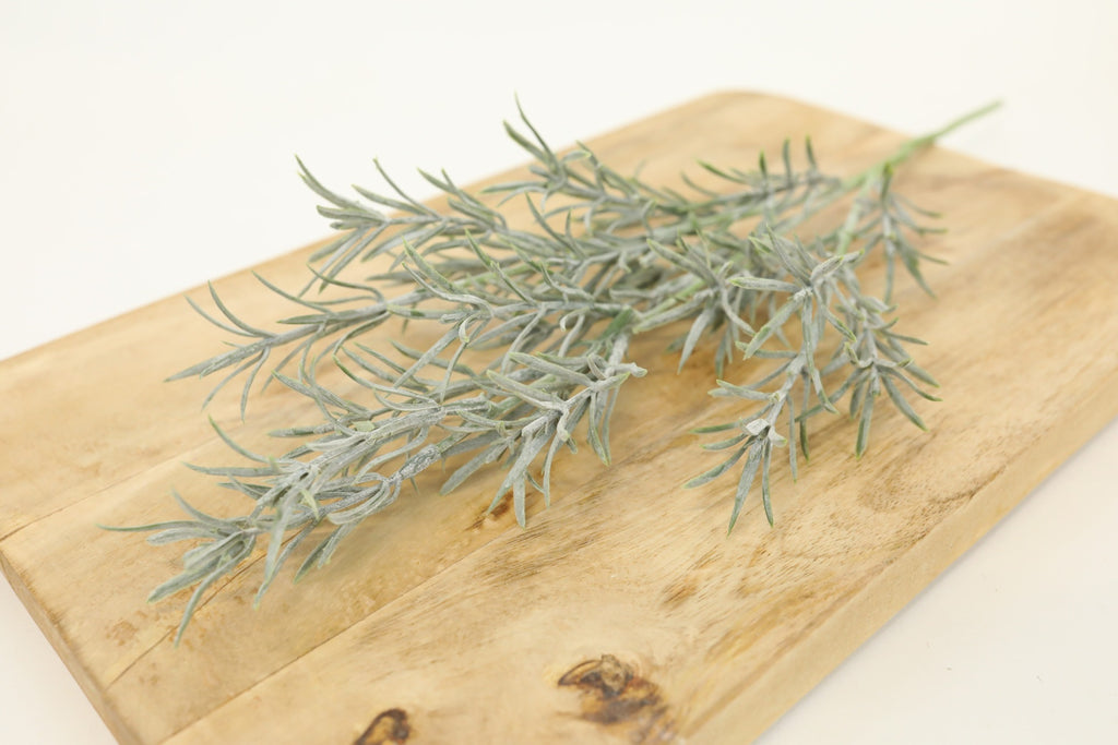 Frosted Rosemary Stem - 19""