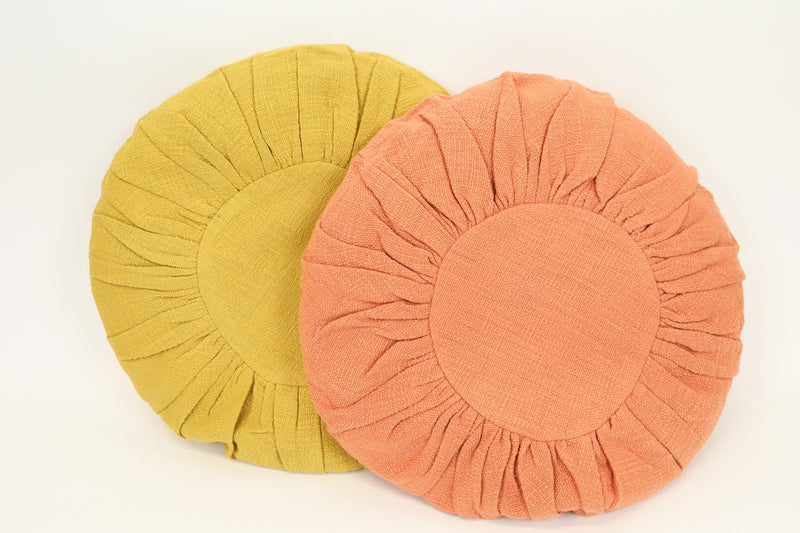 Coral Round Pillow