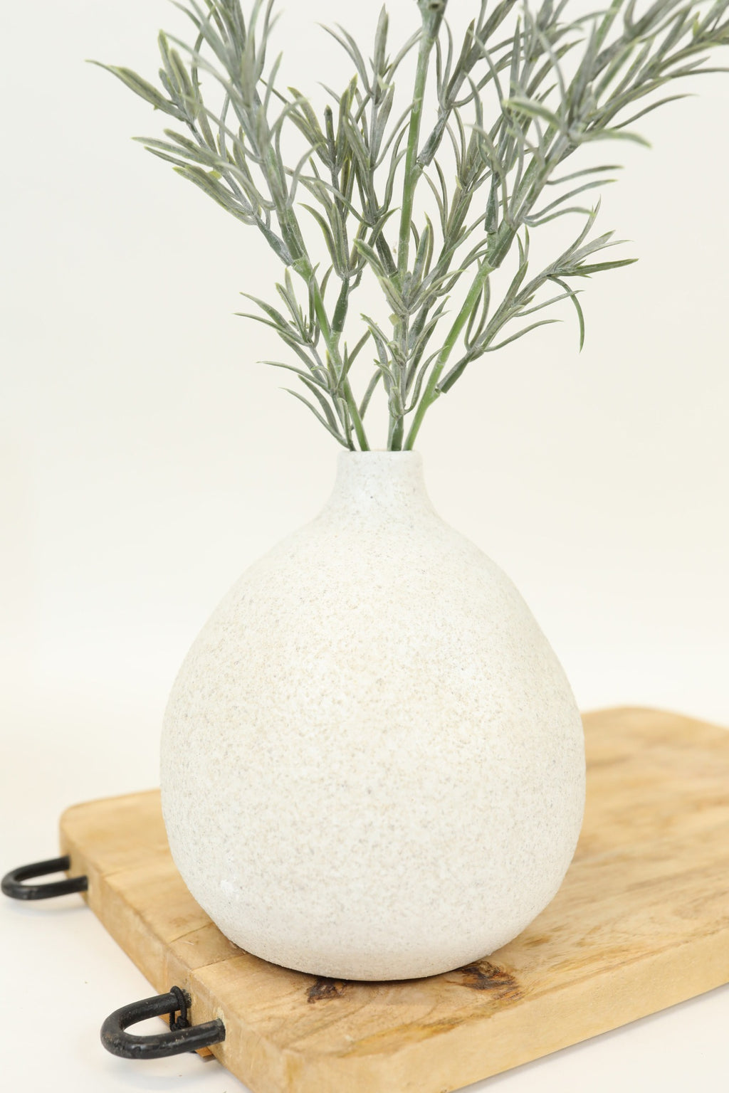 Speckled Terra-cotta Bubble Vase