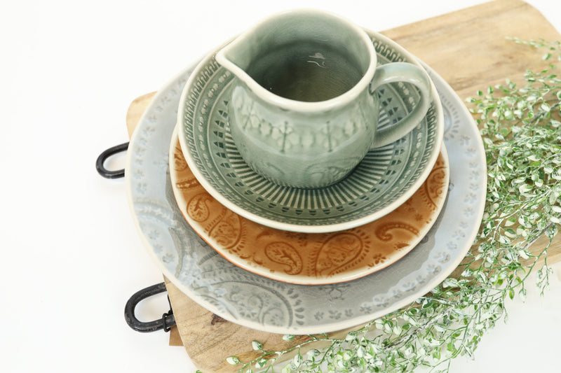 Glazed Stoneware Salad Plate - Western Collection