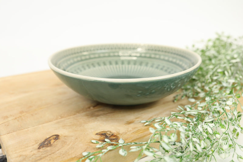 Glazed Stoneware Bowl - Western Collection