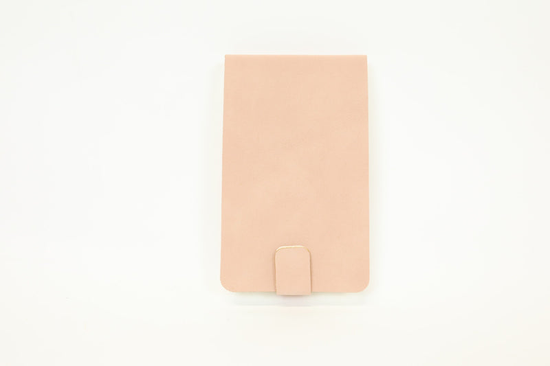 Pink Suede Notebook