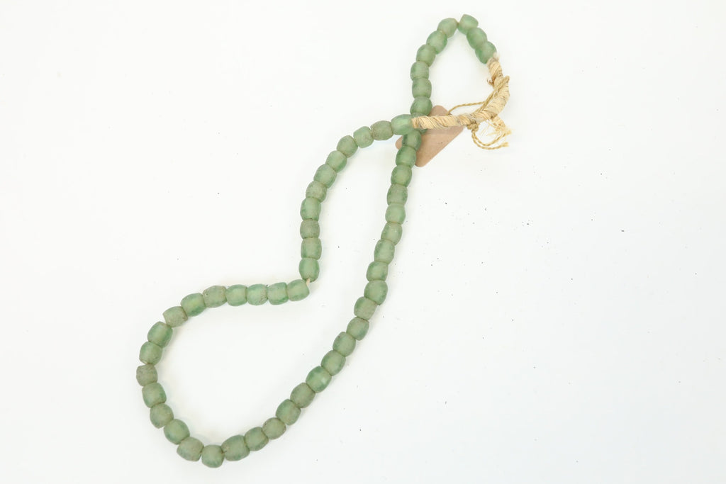 Sea Glass Beads - Green