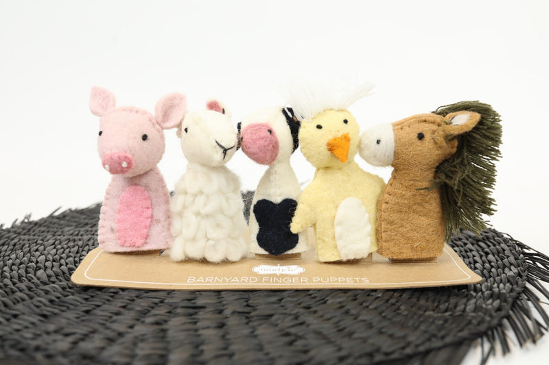 Barn Animal Finger Puppets