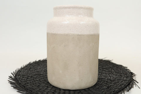 Beaded Coasters - White