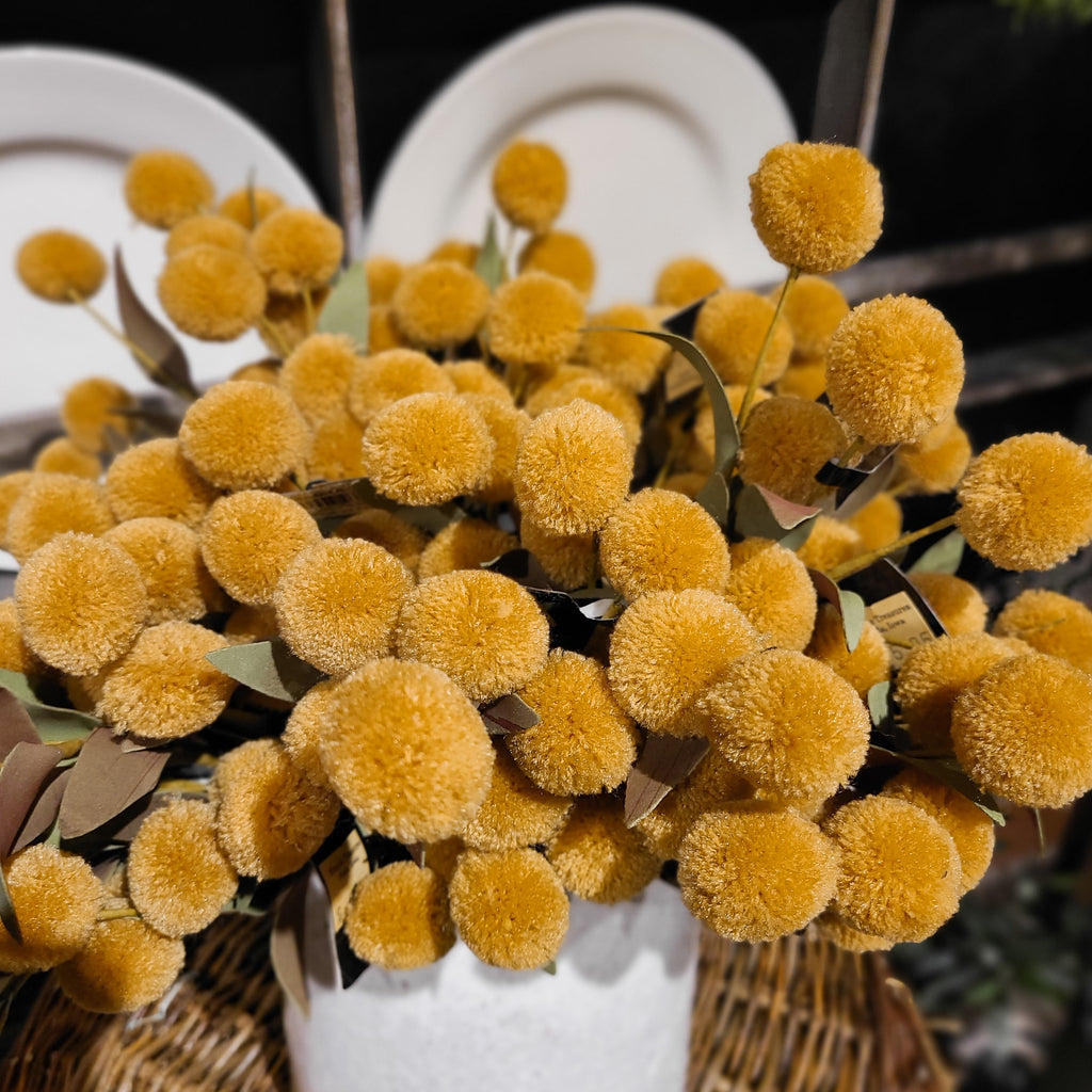 Pom Pom Pick - Yellow