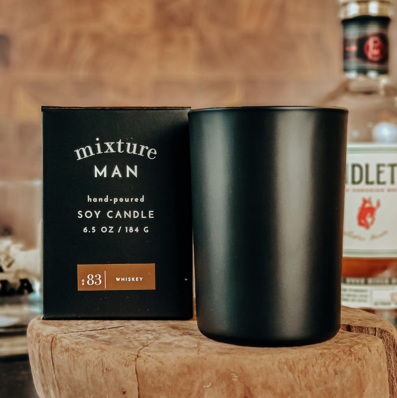 Men's Candle - Whiskey