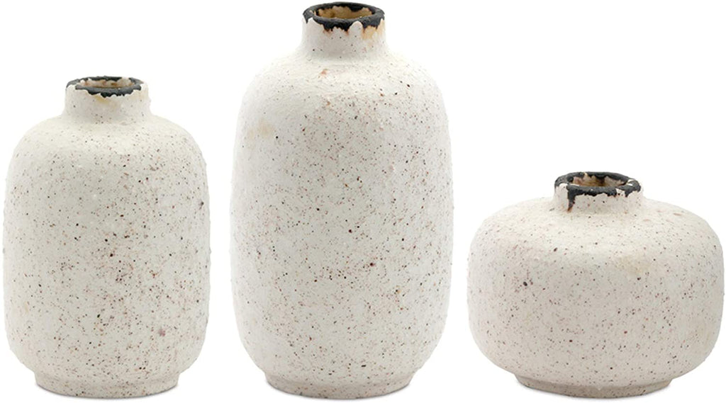 White Mini Vases