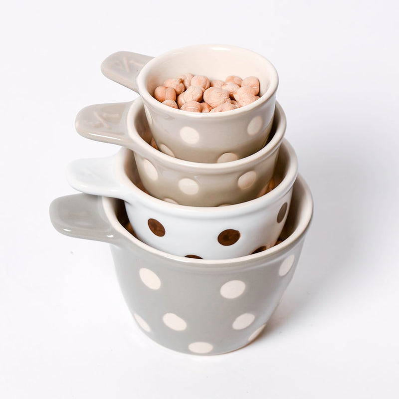 Polka Dot Measuring Cup Set
