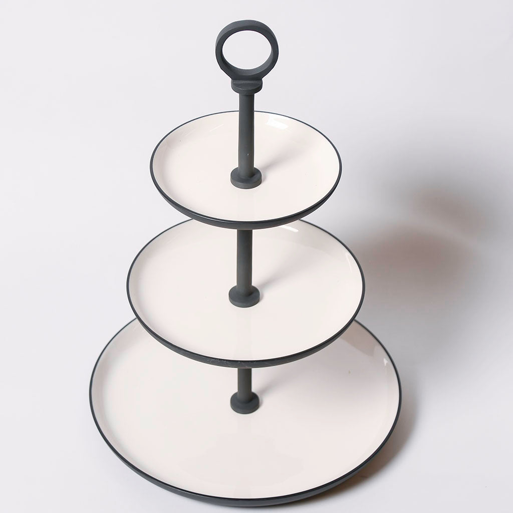 3-Tier Round Tray