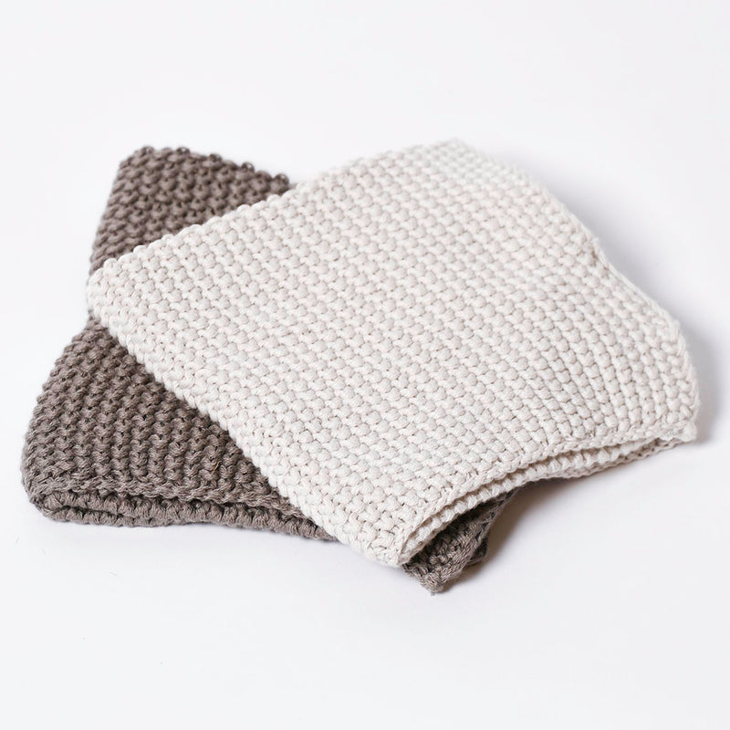 Knit Dish Cloths Set