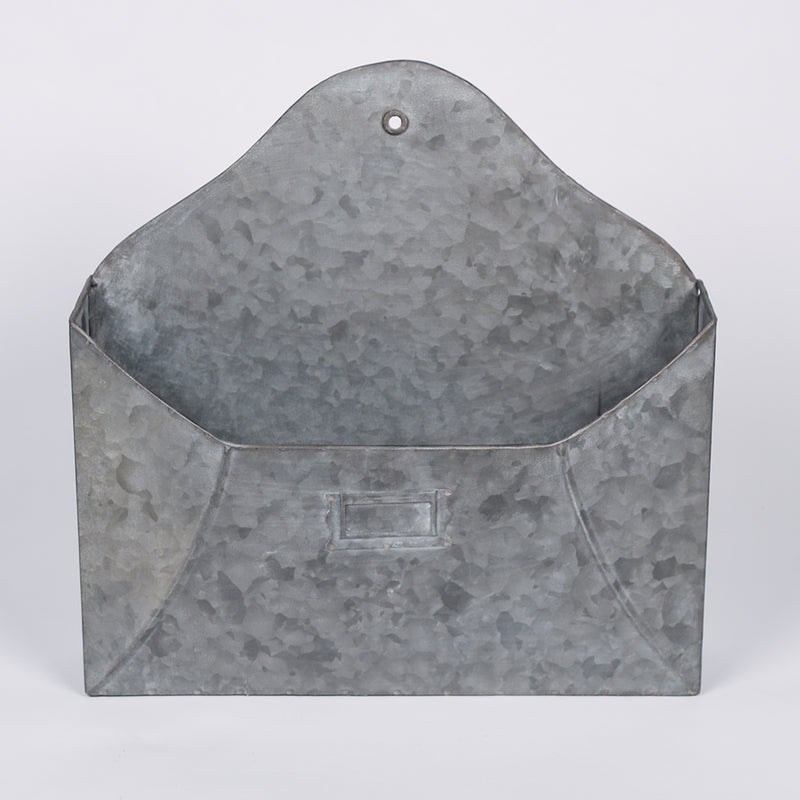 Metal Envelope Wall Pocket - 2 Sizes
