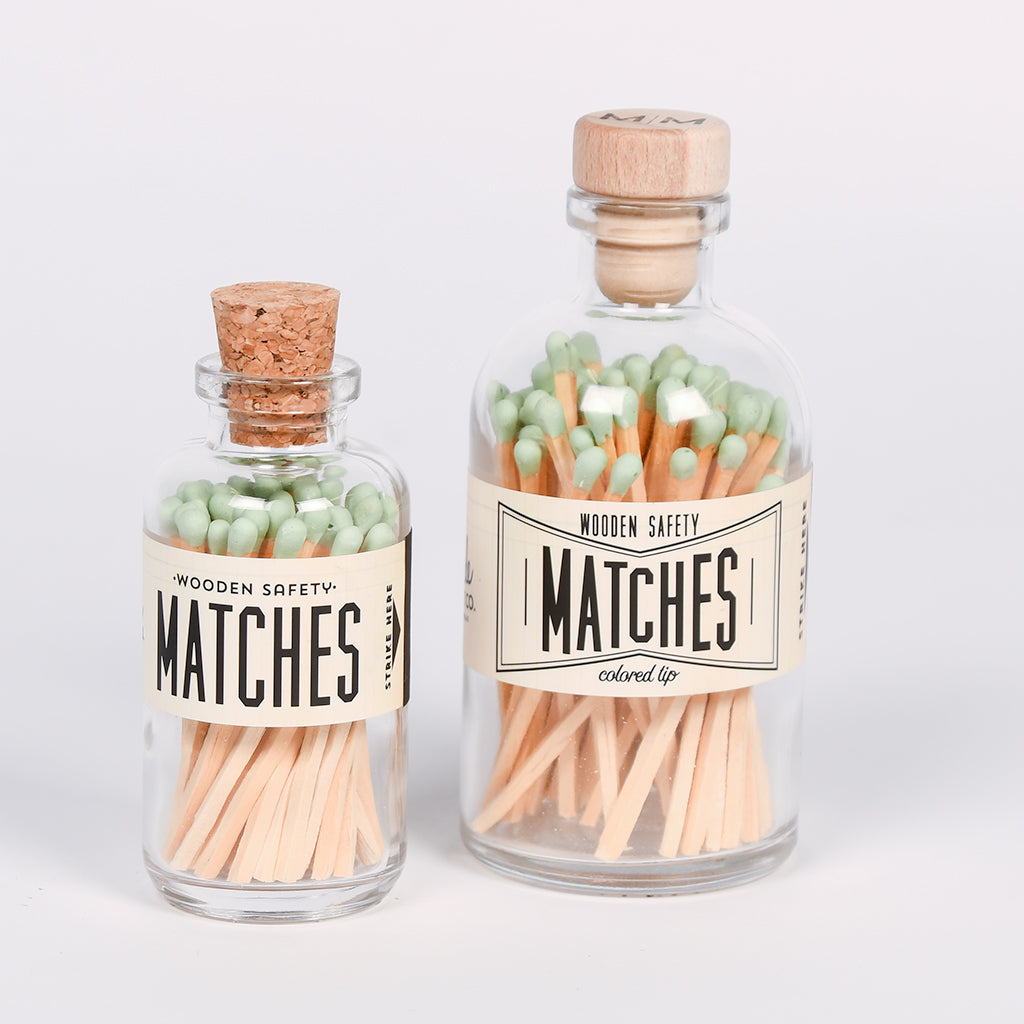 Apothecary Matches - Mint