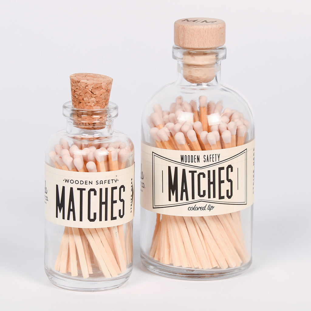 Apothecary Matches - Light Pink