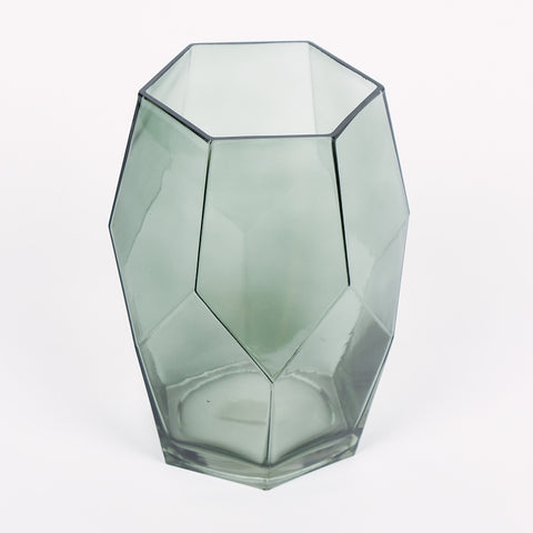 Recycled Glass Vase - Green