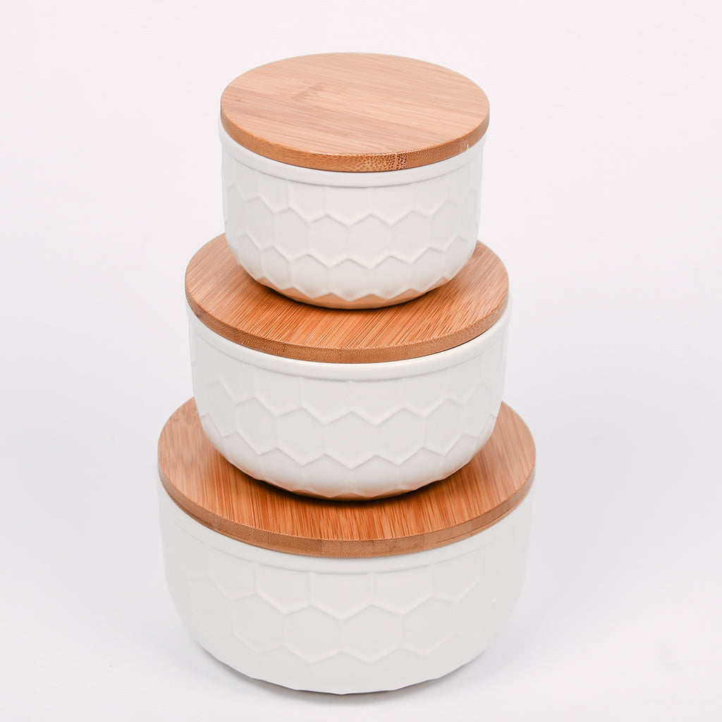 Round Stoneware Bowls - 3 Sizes