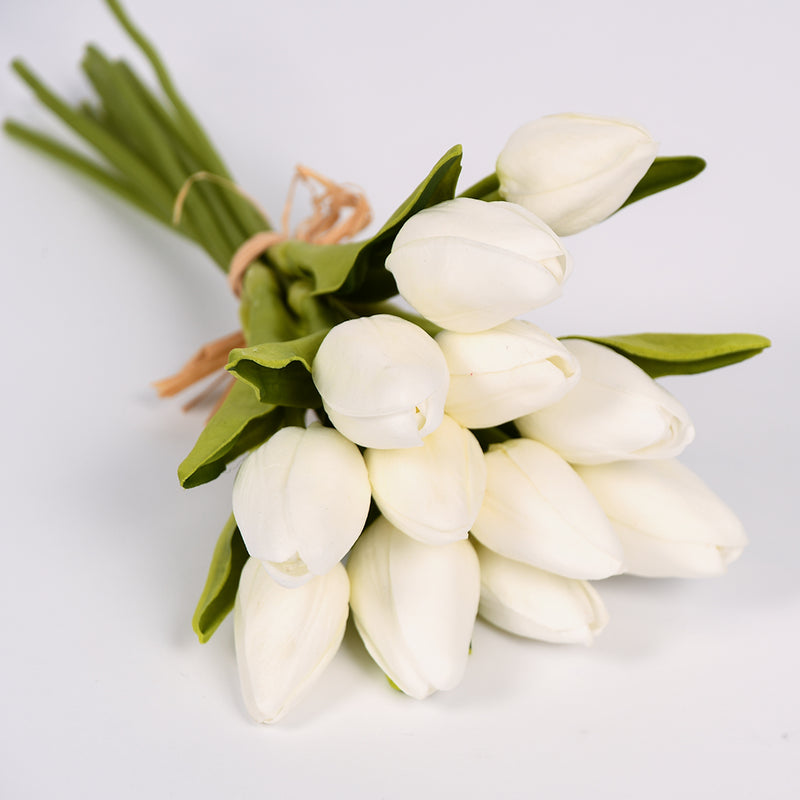 White Tulip Bouquet