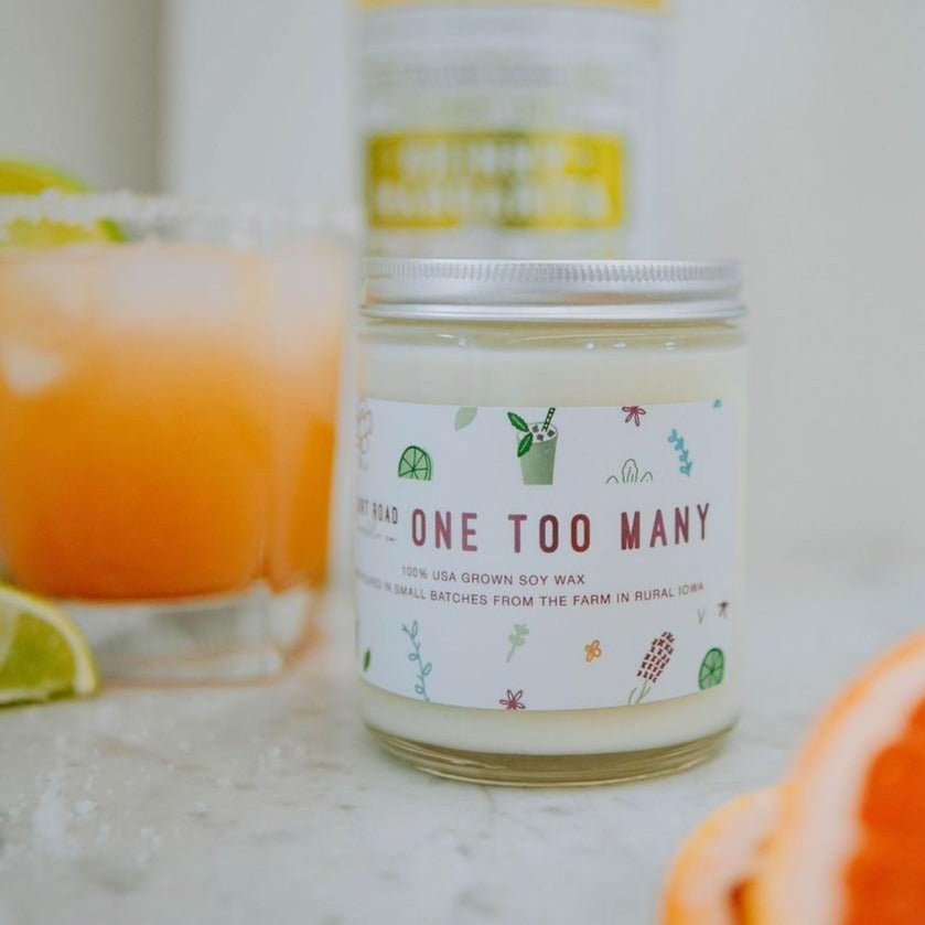 One Too Many Candle - 8 oz.