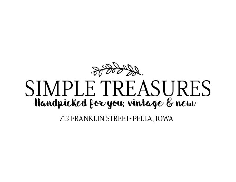 Simple Treasures + Blush Gift Card