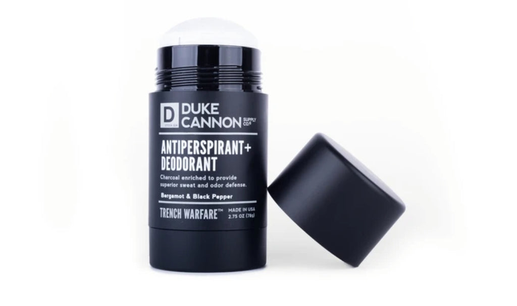 Natural Charcoal Deodorant - Bergamot & Black Pepper