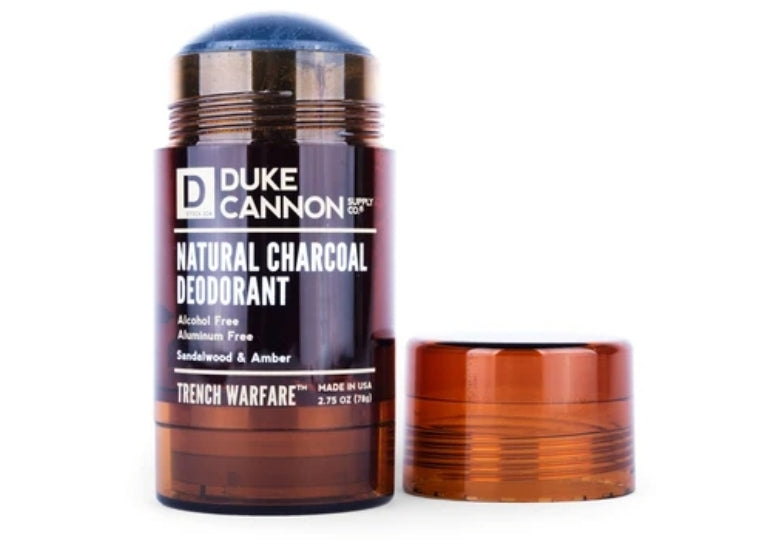 Natural Charcoal Deodorant - Sandalwood and Amber