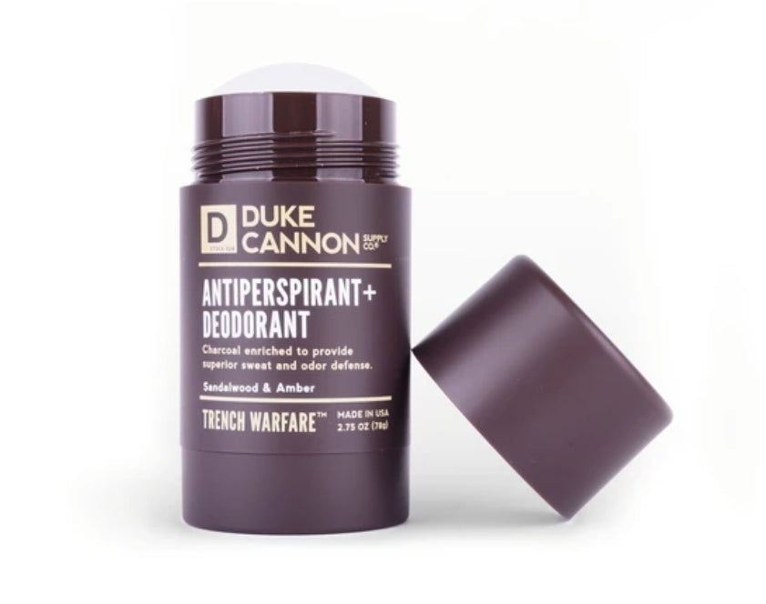 Antiperspirant and Deodorant - Sandalwood and Amber