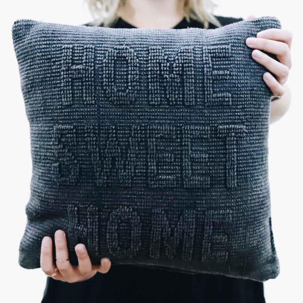 """Home Sweet Home"" Pillow"