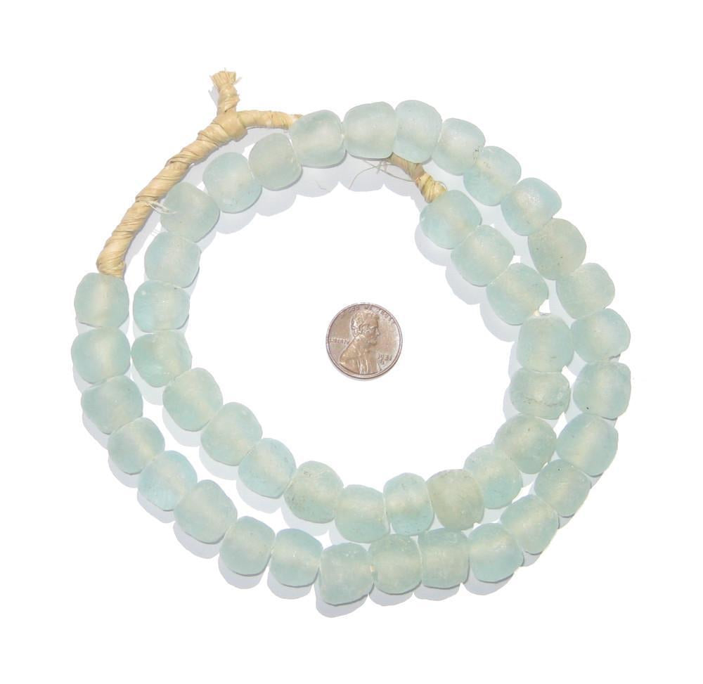 Sea Glass Beads - Sea Green