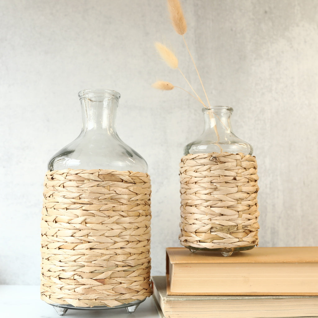 Wicker Bottle - 2 Sizes
