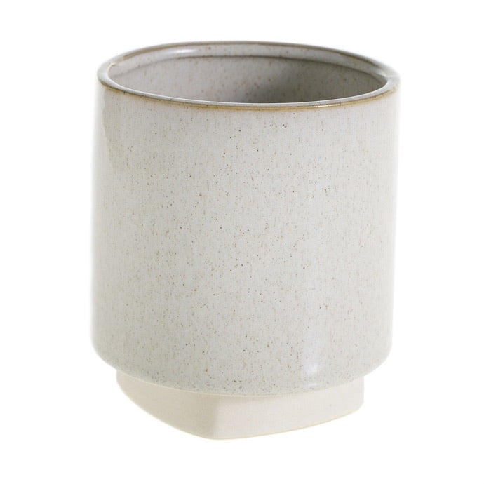 Croix Pot in Cream - Medium