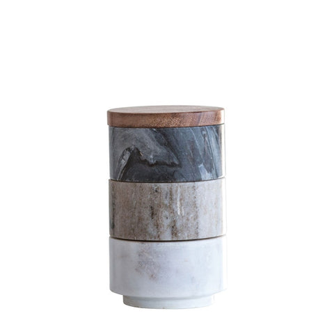 Reactive Glaze Flower Pot - Brown - 2 Sizes