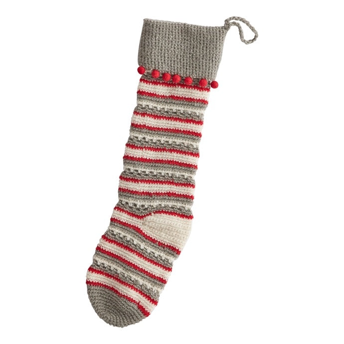 Red Stitch Stocking