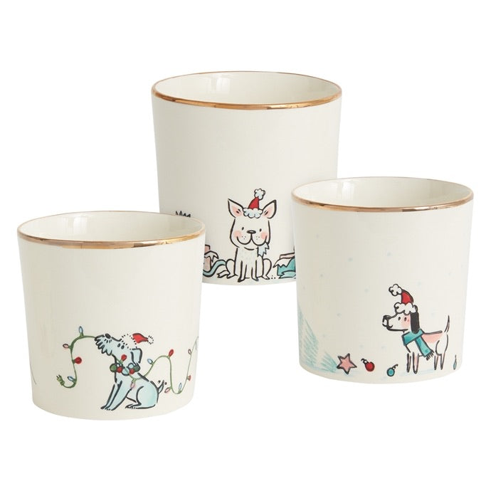 Holly Hounds Pot