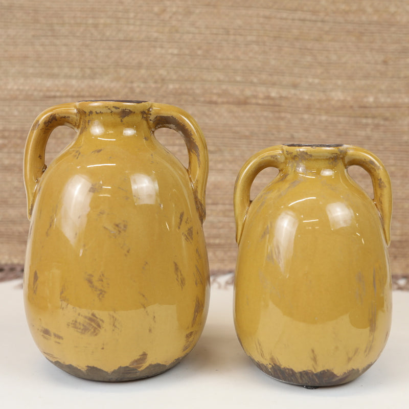 Butterscotch Vases - 2 Sizes