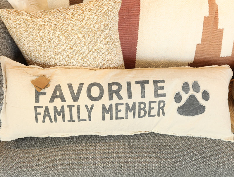 Favorite Family Member Pillow
