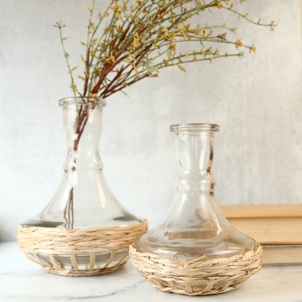 Wicker Vase - 2 Sizes