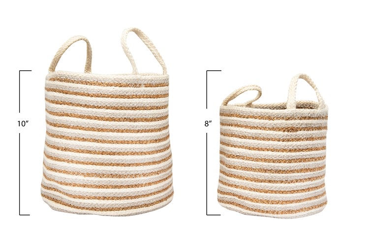 Woven Baskets - 2 Sizes