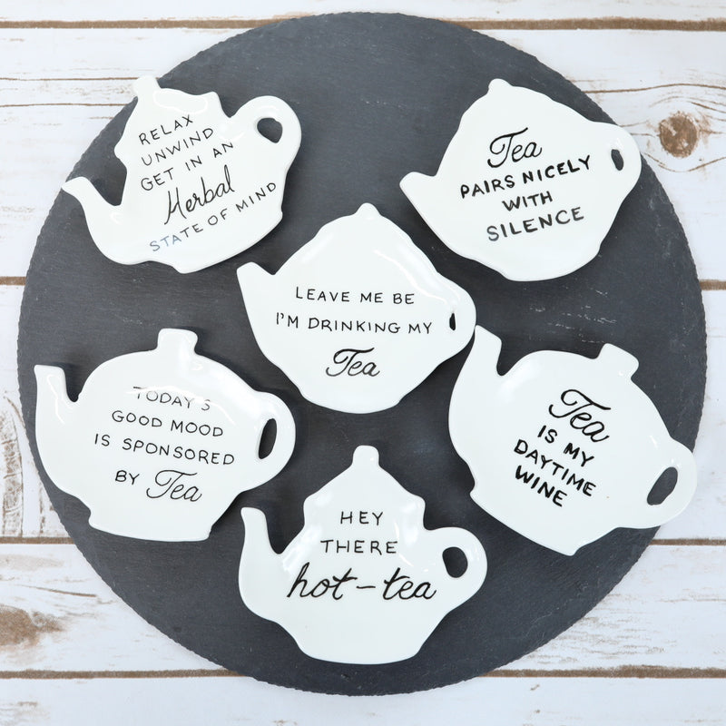 Tea Bag Dishes - 6 Styles