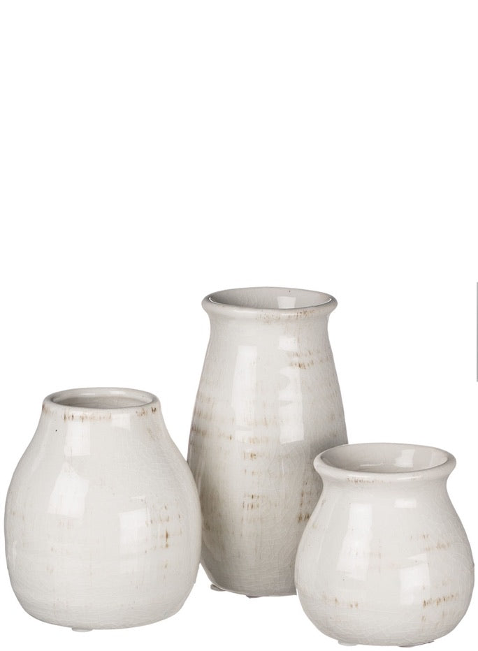 Antique Bud Vases - 3 Sizes