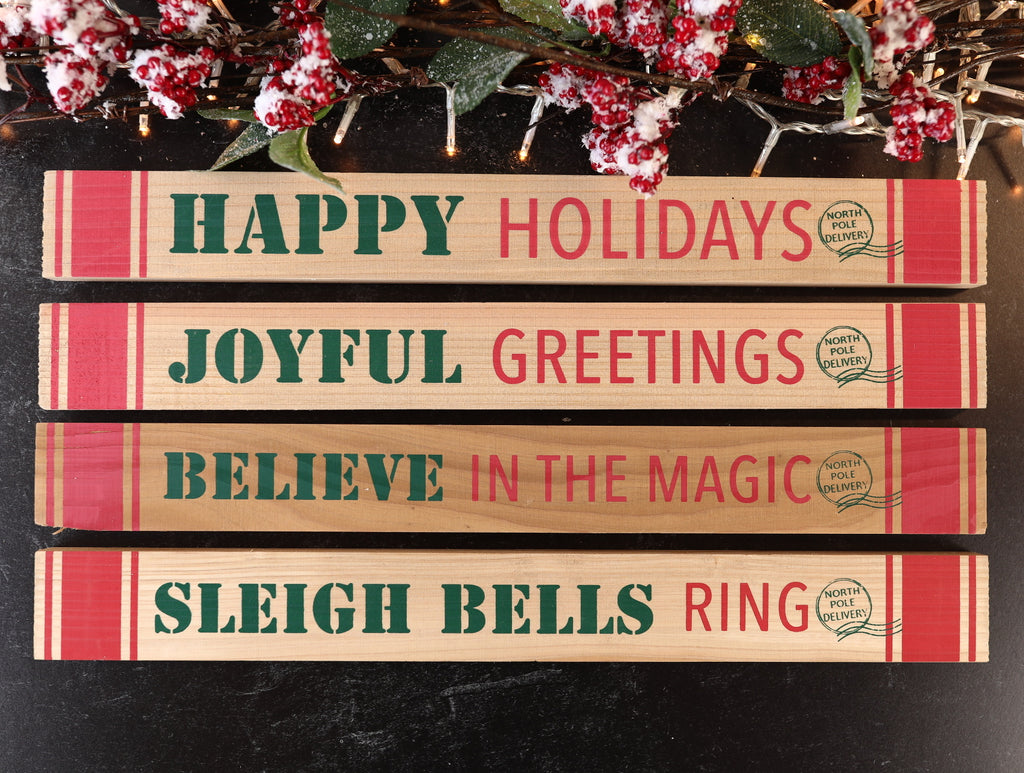Holiday Message Tabs