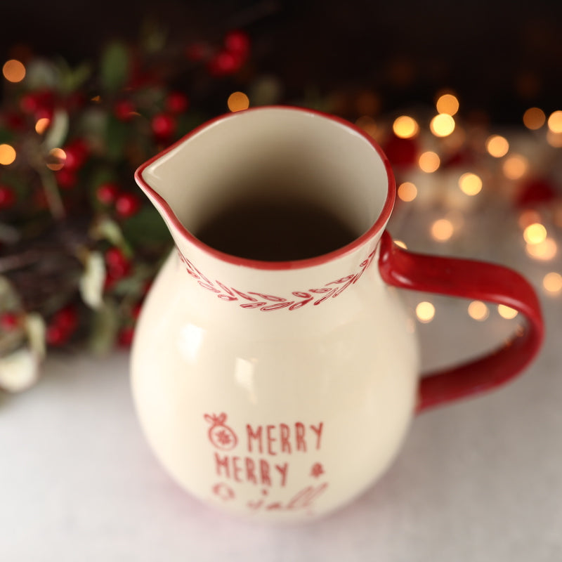 Merry Merry Y'all Pitcher