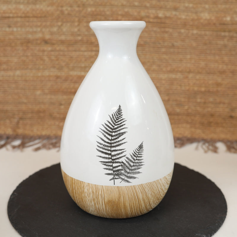 Painted Fern Vases - 4 Styles
