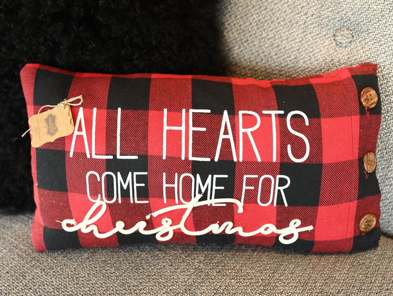 All Hearts Come Home Pillow