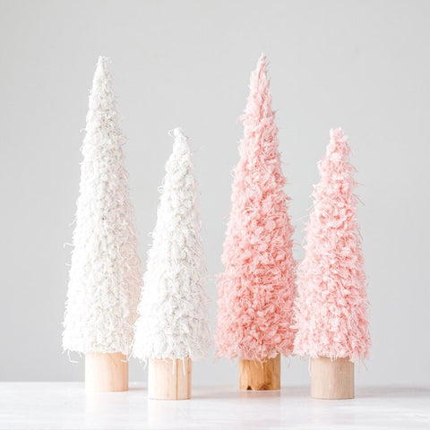Pink Ceramic Tree - Small